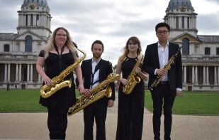 Momentum (Left to Right) Emily Cox, Laurence Astill, Hannah Brierley, Wayne Hau