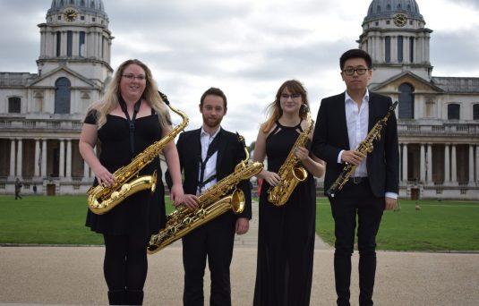 Momentum (Left to Right) Emily Cox, Laurence Astill, Hannah Brierley, Wayne Hau