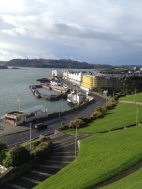 Exploring Plymouth after a well-received performance of GROOMED