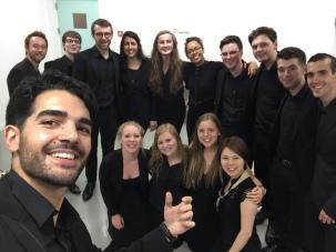 Group Photo after RCM Saxophone Concert 2017
