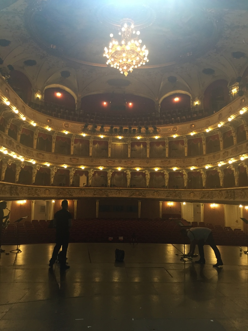 Croatian National Theatre - rehearsal