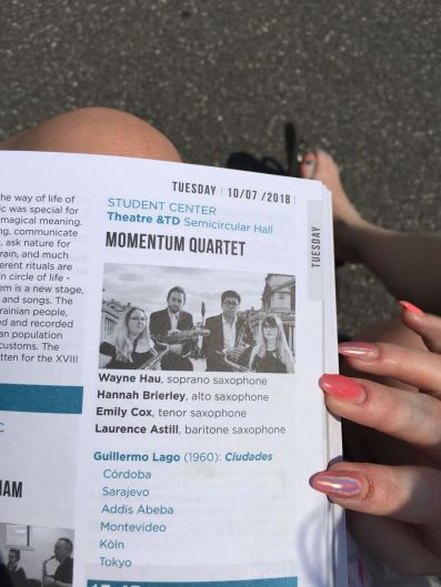 In the programme for the WSC, Zagreb
