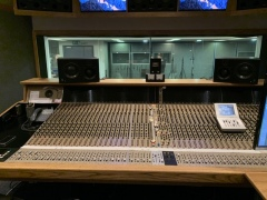 Recording Session in Air-Edel Studios with Simon Slater