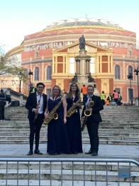 Royal Albert Hall Debut - Momentum Saxophone Quartet