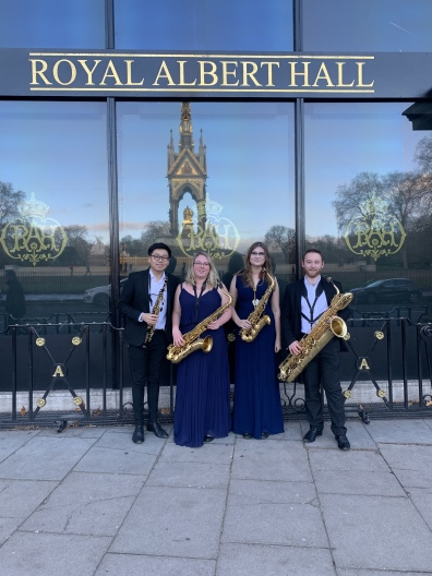 Royal Albert Hall Debut - Momentum Saxophone Quartet